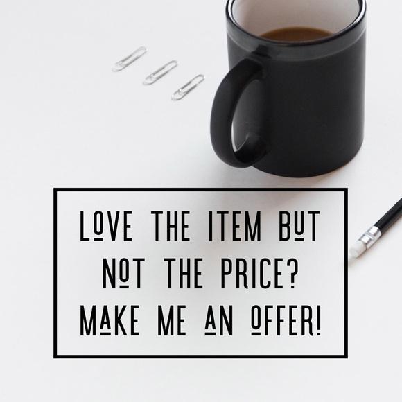Denim - Don't be shy.. Make me an offer!